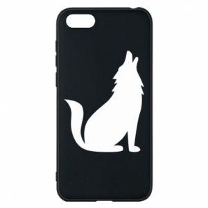 Etui na Huawei Y5 2018 Wolf howls