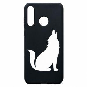 Etui na Huawei P30 Lite Wolf howls