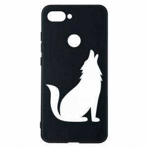 Phone case for Xiaomi Mi8 Lite Wolf howls