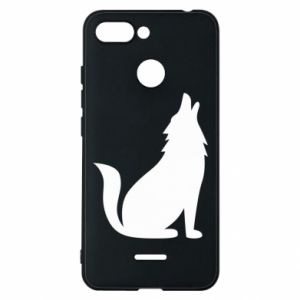 Phone case for Xiaomi Redmi 6 Wolf howls