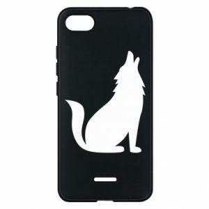 Etui na Xiaomi Redmi 6A Wolf howls