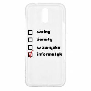 Etui na Nokia 2.3 Wolny, żonaty