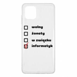 Etui na Samsung Note 10 Lite Wolny, żonaty
