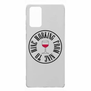 Samsung Note 20 Case Working from nine to wine