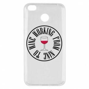 Xiaomi Redmi 4X Case Working from nine to wine
