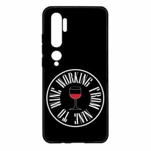Xiaomi Mi Note 10 Case Working from nine to wine