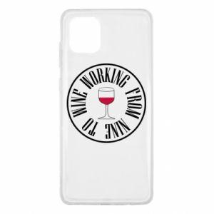 Samsung Note 10 Lite Case Working from nine to wine