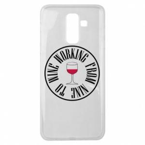 Samsung J8 2018 Case Working from nine to wine