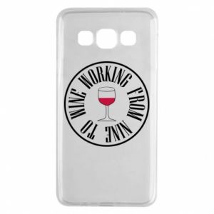Samsung A3 2015 Case Working from nine to wine