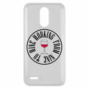 Lg K10 2017 Case Working from nine to wine