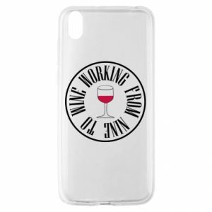 Huawei Y5 2019 Case Working from nine to wine
