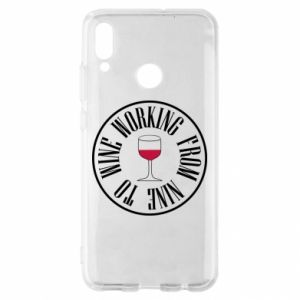 Huawei P Smart 2019 Case Working from nine to wine