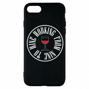 iPhone SE 2020 Case Working from nine to wine