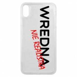 Etui na iPhone Xs Max Wredna nie realistka