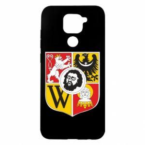 Etui na Xiaomi Redmi Note 9/Redmi 10X Wrocław herb