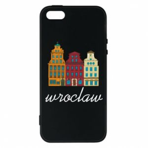 Etui na iPhone 5/5S/SE Wroclaw illustration