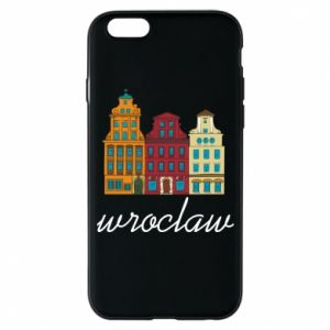 Etui na iPhone 6/6S Wroclaw illustration