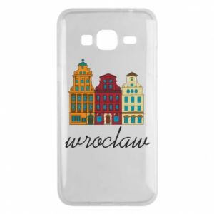Phone case for Samsung J3 2016 Wroclaw illustration