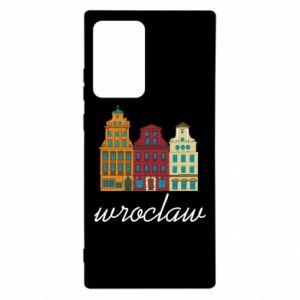 Etui na Samsung Note 20 Ultra Wroclaw illustration