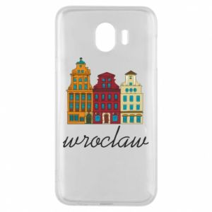 Phone case for Samsung J4 Wroclaw illustration