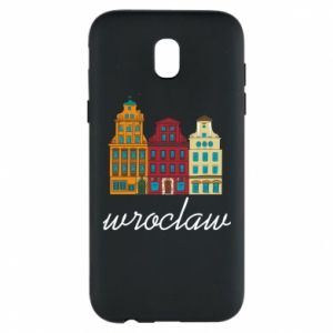 Phone case for Samsung J5 2017 Wroclaw illustration