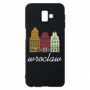 Phone case for Samsung J6 Plus 2018 Wroclaw illustration