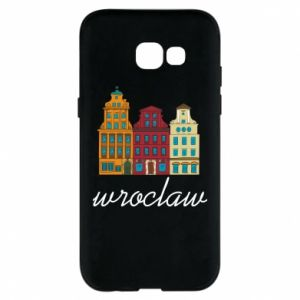 Phone case for Samsung A5 2017 Wroclaw illustration