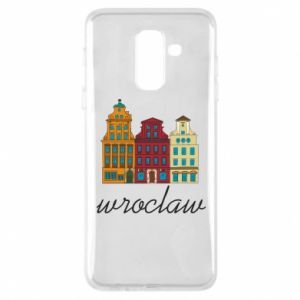 Phone case for Samsung A6+ 2018 Wroclaw illustration
