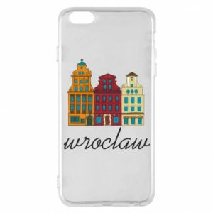 Phone case for iPhone 6 Plus/6S Plus Wroclaw illustration