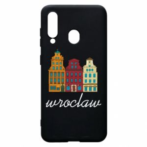 Phone case for Samsung A60 Wroclaw illustration
