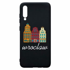 Phone case for Samsung A70 Wroclaw illustration