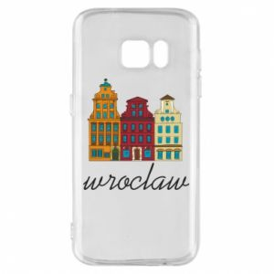Phone case for Samsung S7 Wroclaw illustration