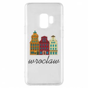 Phone case for Samsung S9 Wroclaw illustration