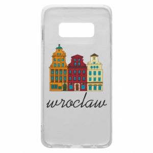Phone case for Samsung S10e Wroclaw illustration