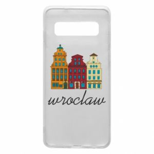 Phone case for Samsung S10 Wroclaw illustration