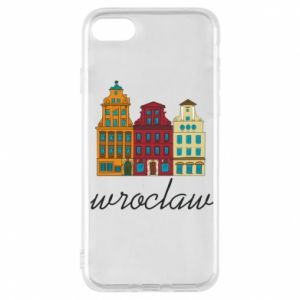 Etui na iPhone 7 Wroclaw illustration