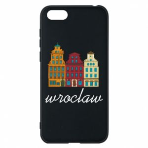 Phone case for Huawei Y5 2018 Wroclaw illustration