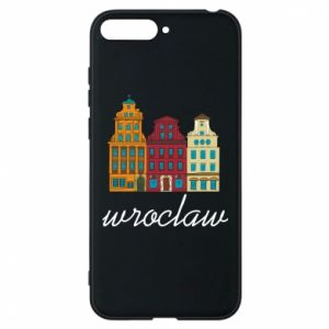 Phone case for Huawei Y6 2018 Wroclaw illustration