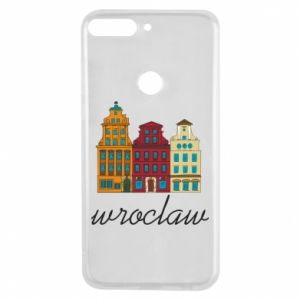 Phone case for Huawei Y7 Prime 2018 Wroclaw illustration