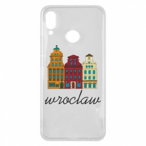Etui na Huawei P Smart Plus Wroclaw illustration