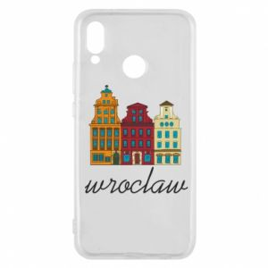 Phone case for Huawei P20 Lite Wroclaw illustration