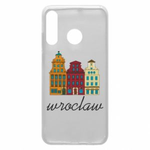 Phone case for Huawei P30 Lite Wroclaw illustration
