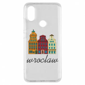 Phone case for Xiaomi Mi A2 Wroclaw illustration