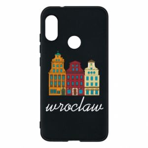 Phone case for Mi A2 Lite Wroclaw illustration