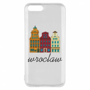 Phone case for Xiaomi Mi6 Wroclaw illustration
