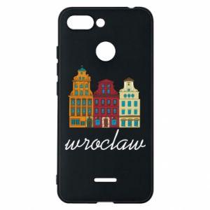 Phone case for Xiaomi Redmi 6 Wroclaw illustration