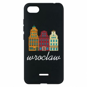 Phone case for Xiaomi Redmi 6A Wroclaw illustration