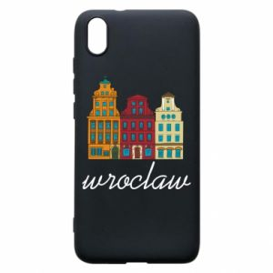 Phone case for Xiaomi Redmi 7A Wroclaw illustration