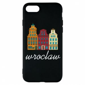Etui na iPhone 8 Wroclaw illustration