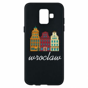 Phone case for Samsung A6 2018 Wroclaw illustration